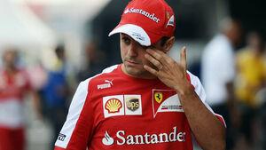 Felipe Massa Formel 1 GP Indien 2013
