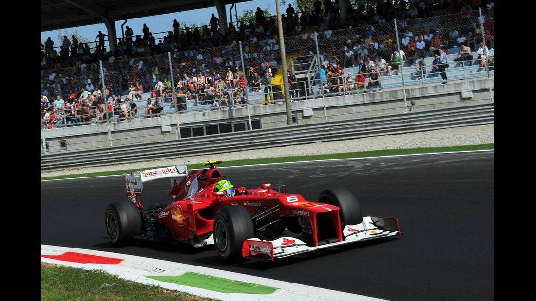 Felipe Massa  - Formel 1 - GP Italien - 07. September 2012