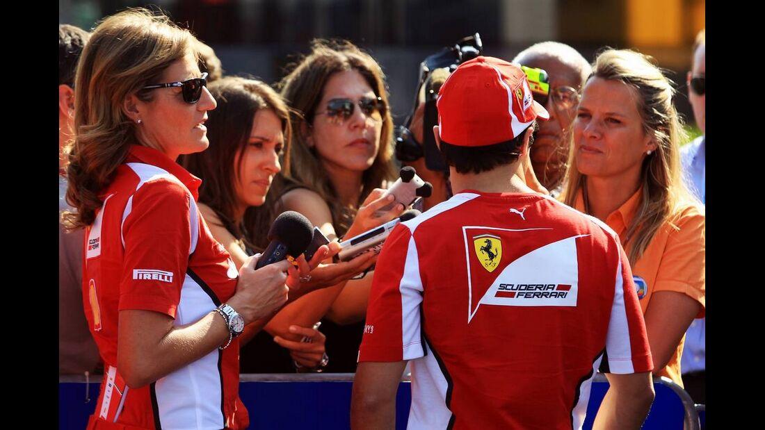 Felipe Massa - Formel 1 - GP Italien - 6. September 2012