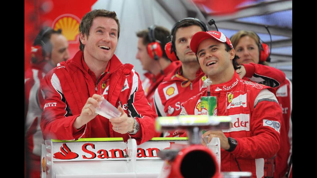 Felipe Massa - Formel 1 - GP Korea - 14. Oktober 2011