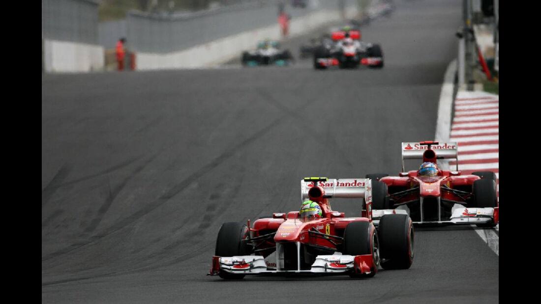 Felipe Massa - Formel 1 - GP Korea - 16. Oktober 2011
