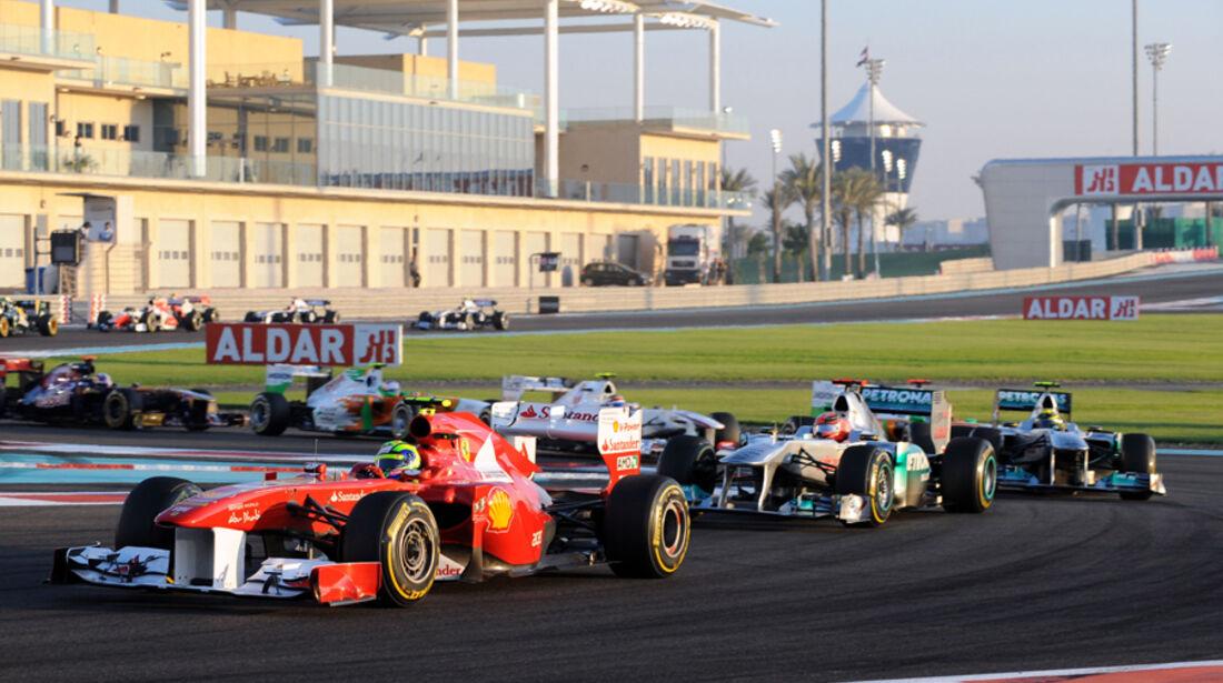 Felipe Massa GP Abu Dhabi 2011