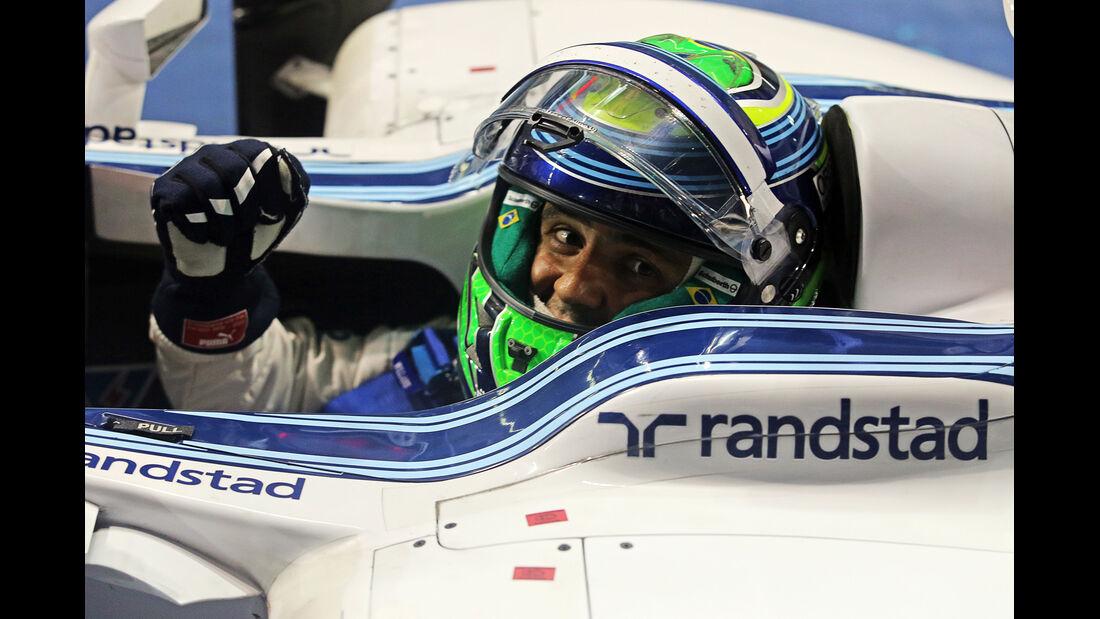 Felipe Massa - GP Abu Dhabi 2014 - Formel 1 - Tops & Flops