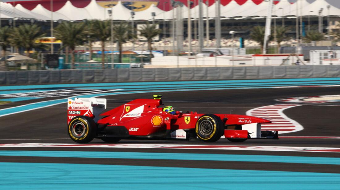 Felipe Massa - GP Abu Dhabi - Qualifying - 12.11.2011