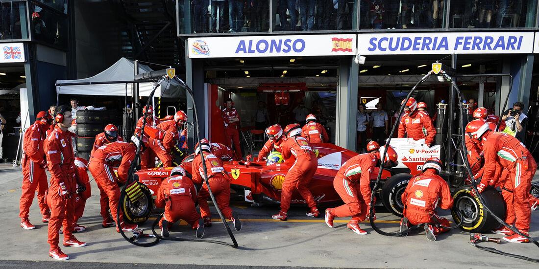 Felipe Massa GP Australien 2012