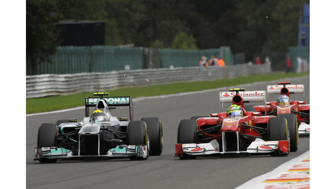 Felipe Massa GP Belgien 2011