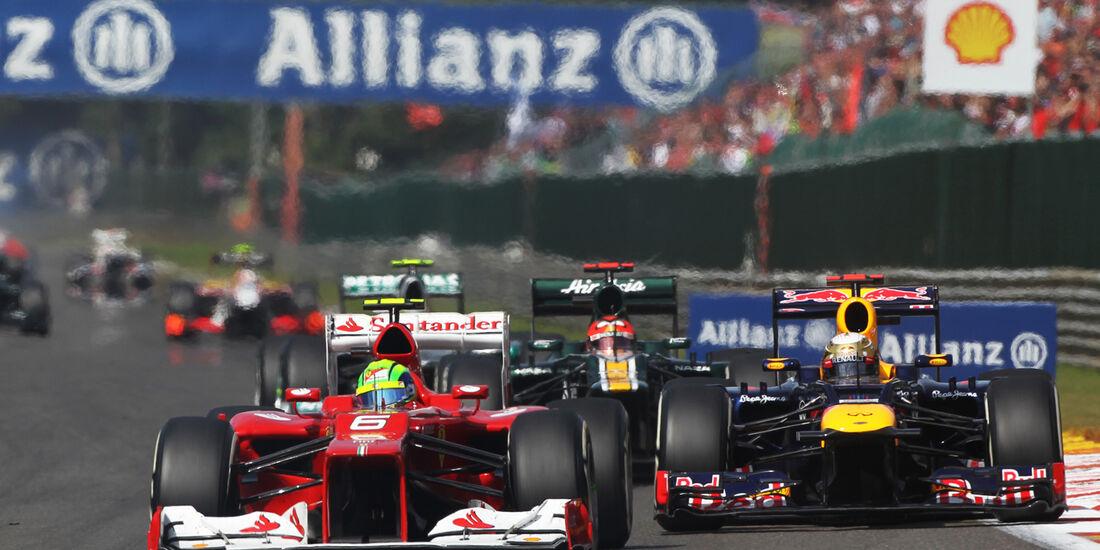 Felipe Massa GP Belgien 2012