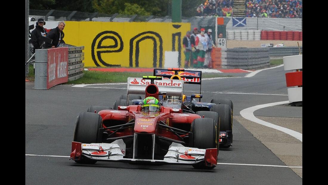 Felipe Massa GP Deutschland 2011 Noten