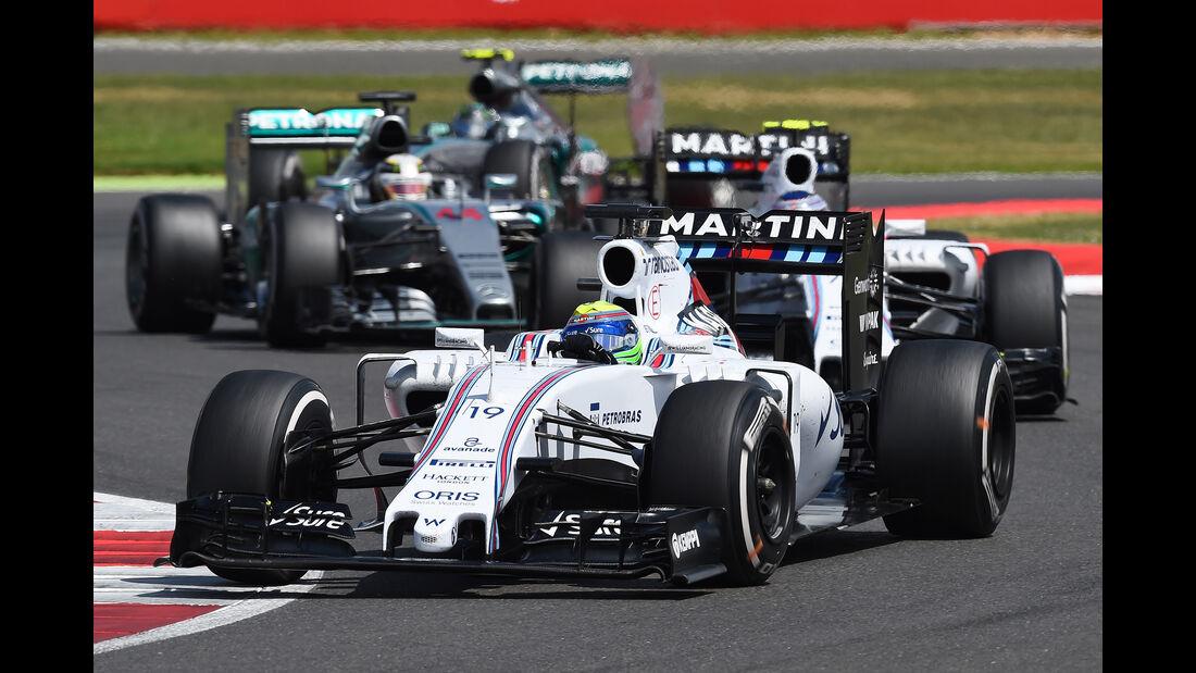 Felipe Massa - GP England 2015