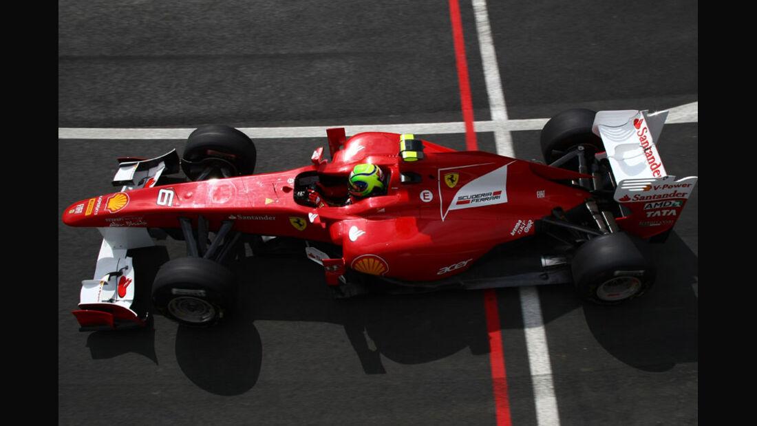 Felipe Massa - GP England - Qualifying - 9. Juli 2011
