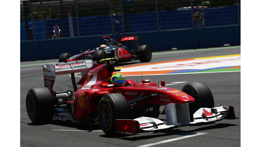 Felipe Massa GP Europa Valencia 2011