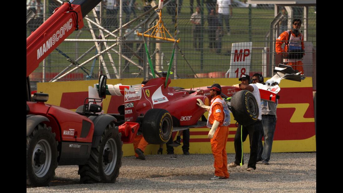 Felipe Massa - GP Indien - Delhi - 29.10.2011