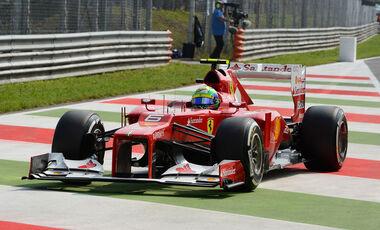 Felipe Massa GP Italien 2012