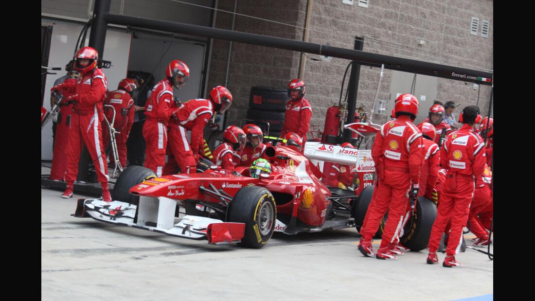 Felipe Massa GP Korea 2011