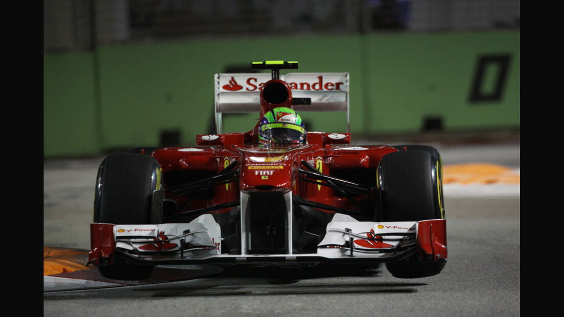 Felipe Massa - GP Singapur - 24. September 2011