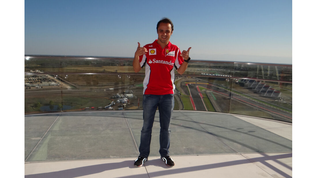 Felipe Massa GP USA 2012