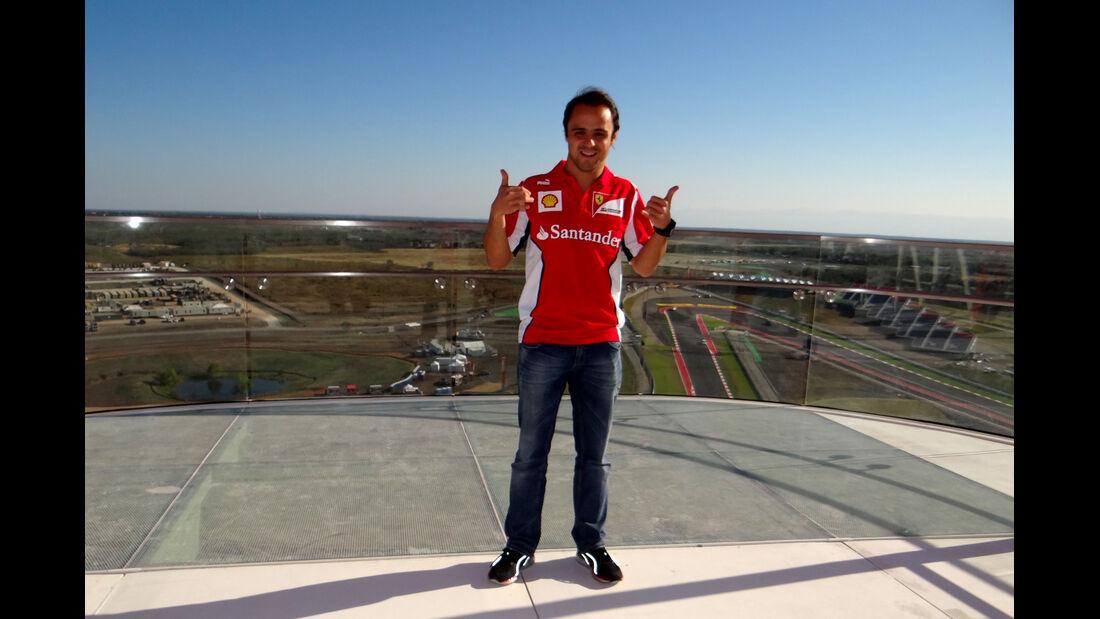 Felipe Massa GP USA 2012 Austin