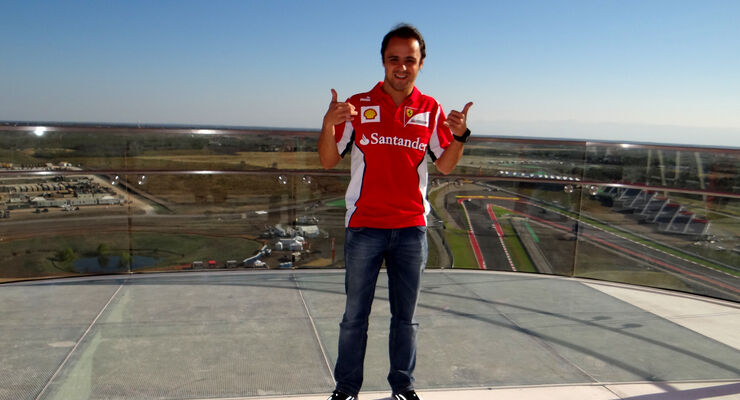 Felipe Massa GP USA 2012 Austin