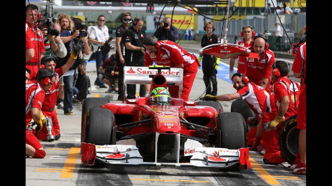 Felipe Massa - GP Ungarn - Formel 1 - 29.7.2011