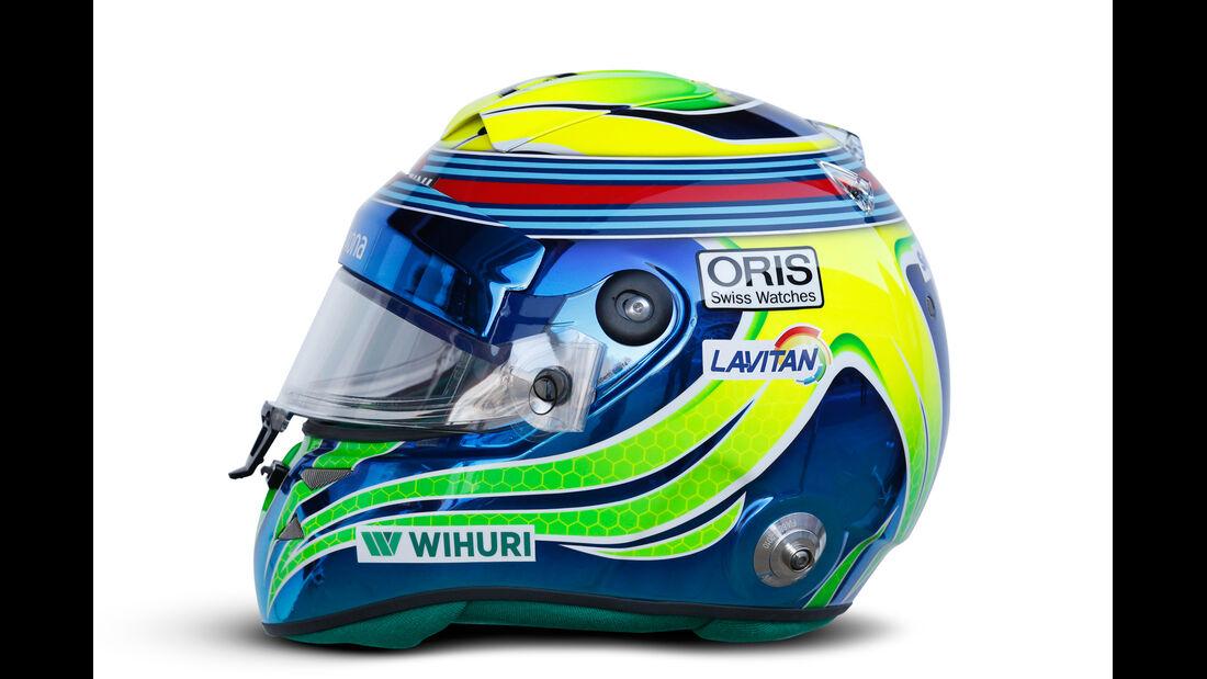 Felipe Massa - Helm  - Formel 1 - 2015