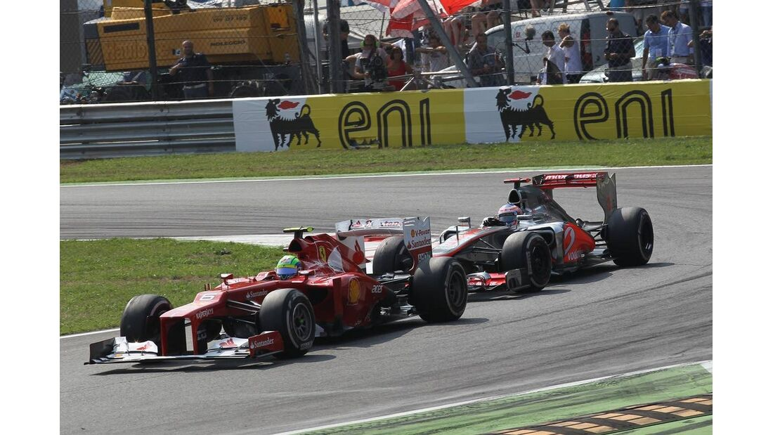 Felipe Massa Jenson Button - Formel 1 - GP Italien - 09. September 2012