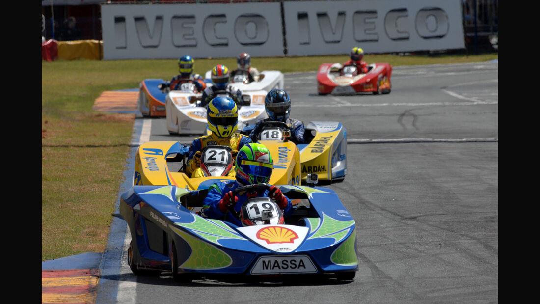 Felipe Massa Kart Brasilien 2013
