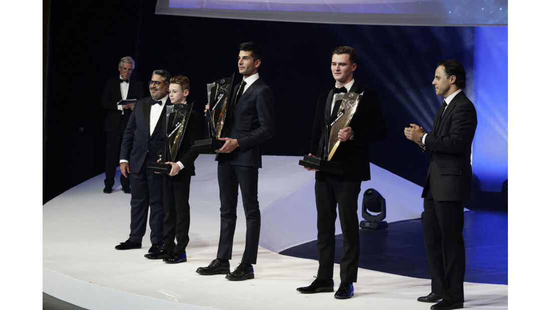 Felipe Massa - Kart-Champions - FIA Preisverleihung - Versailles