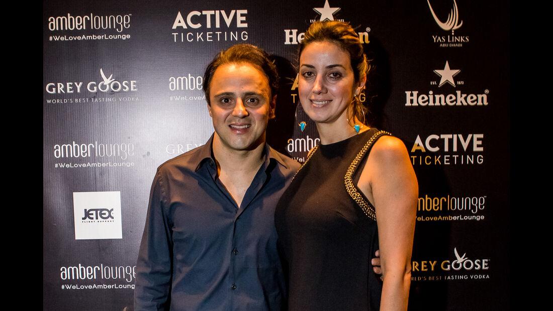 Felipe Massa - Party Abu Dhabi - Amber Lounge 2016