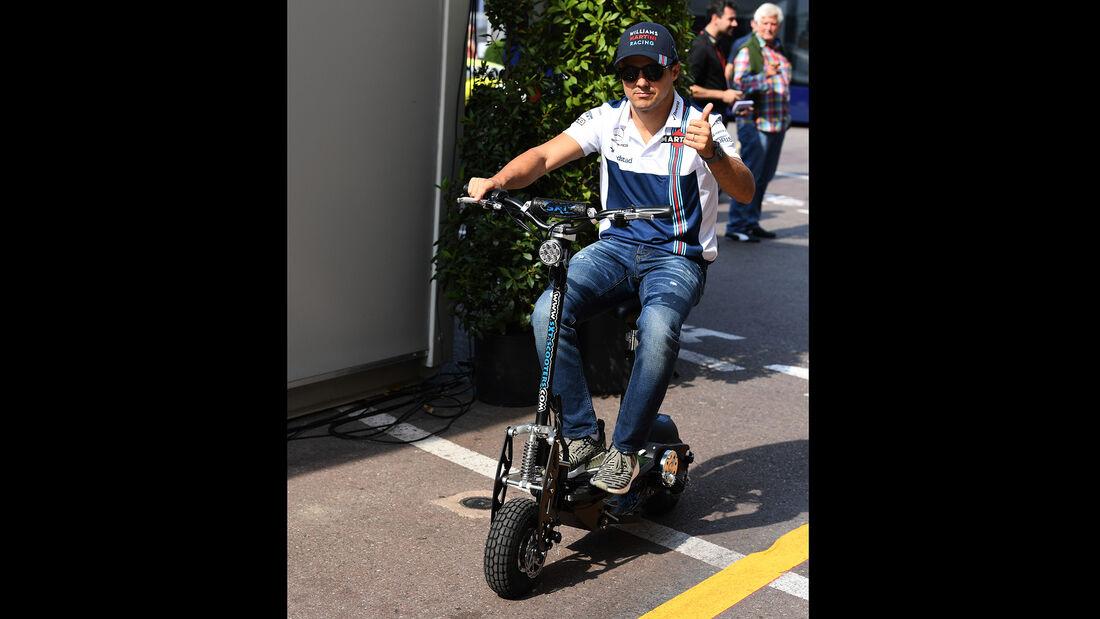 Felipe Massa - Roller - Monaco 2017