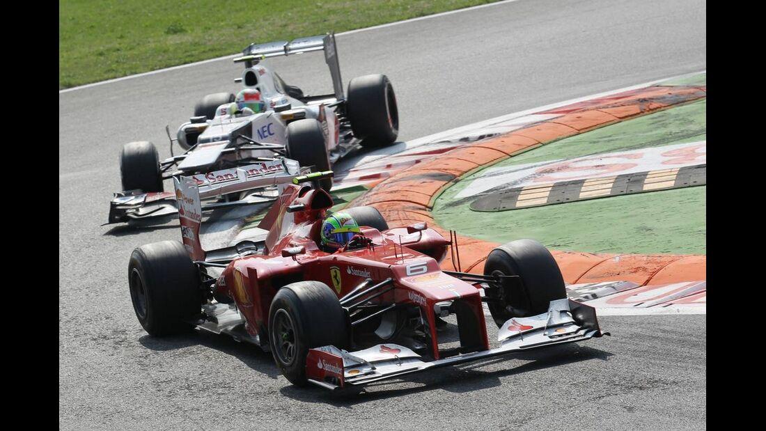 Felipe Massa Sergio Perez - Formel 1 - GP Italien - 09. September 2012