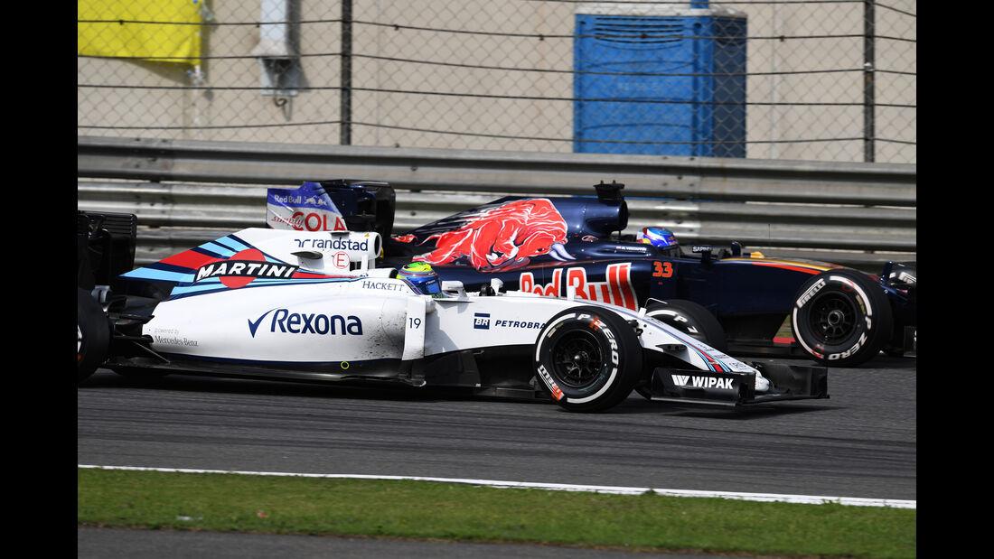 Felipe Massa - Statistik - GP China 2016
