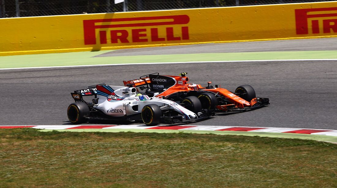 Felipe Massa - Stoffel Vandoorne - Formel 1 - GP Spanien - 14. Mai 2017