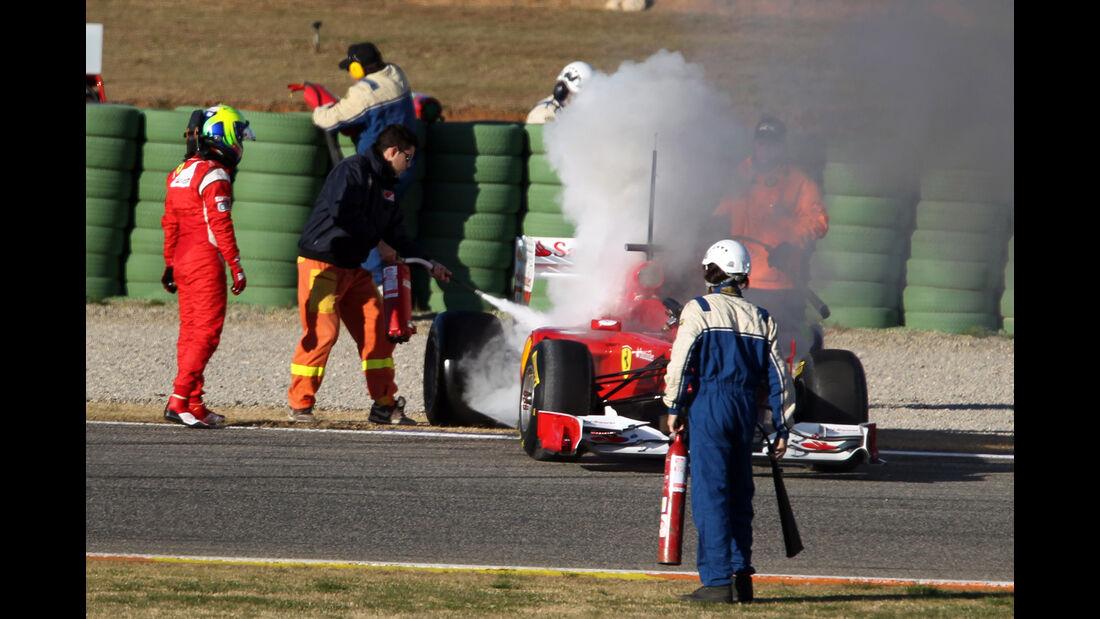 Felipe Massa - Test Valencia - Ferrari - 2011