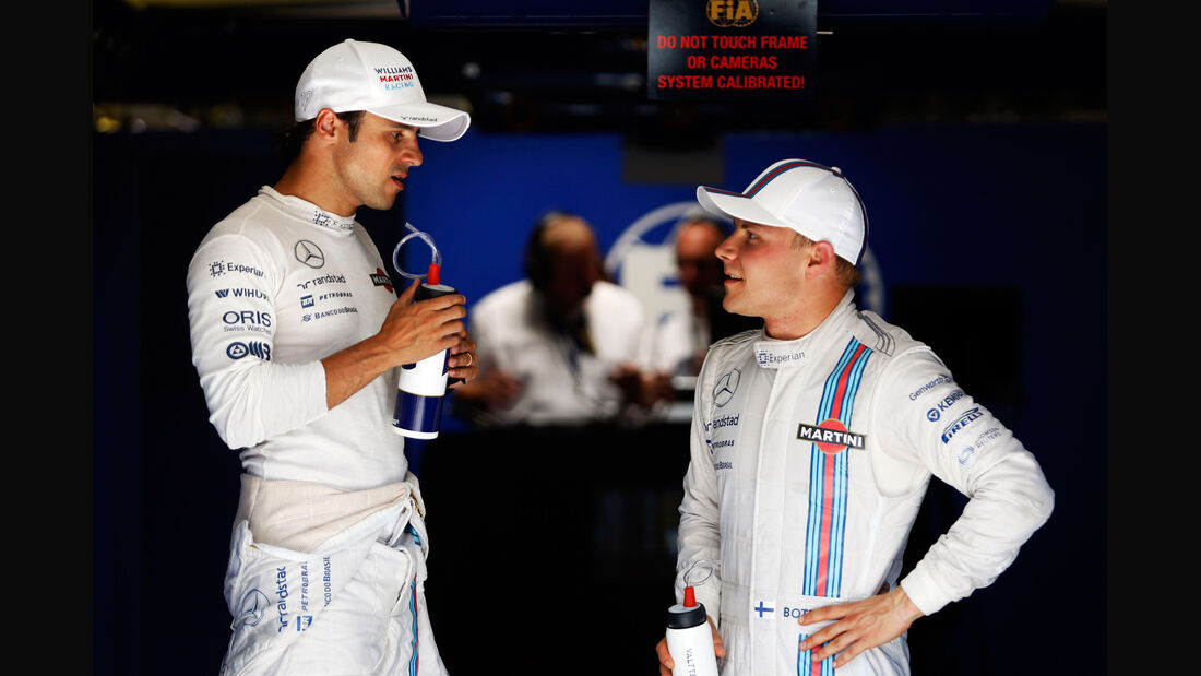 Felipe Massa & Valtteri Bottas - Formel 1 - GP Deutschland - Hockenheim - 19. Juli 2014