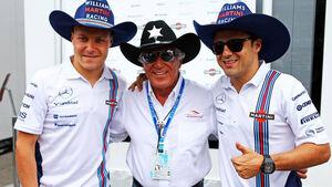 Felipe Massa Valtteri Bottas Mario Andretti Williams Formel 1 GP Italien 2014