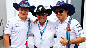 Felipe Massa Valtteri Bottas Mario Andretti Williams Formel 1 GP Italien 2014