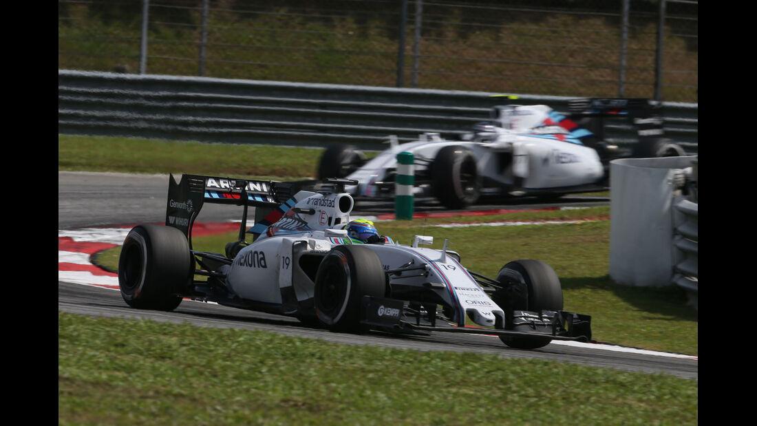 Felipe Massa - Valtteri Bottas - Williams - GP Malaysia 2015 - Formel 1