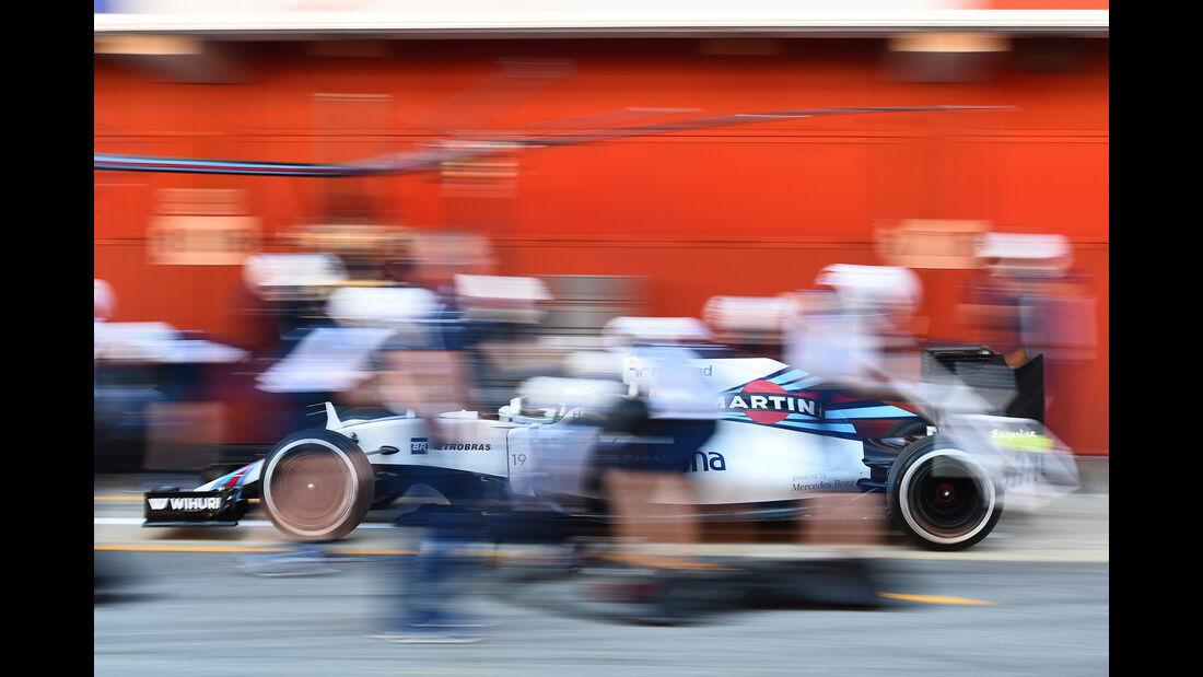 Felipe Massa - Williams - Barcelona - F1-Test - 2016