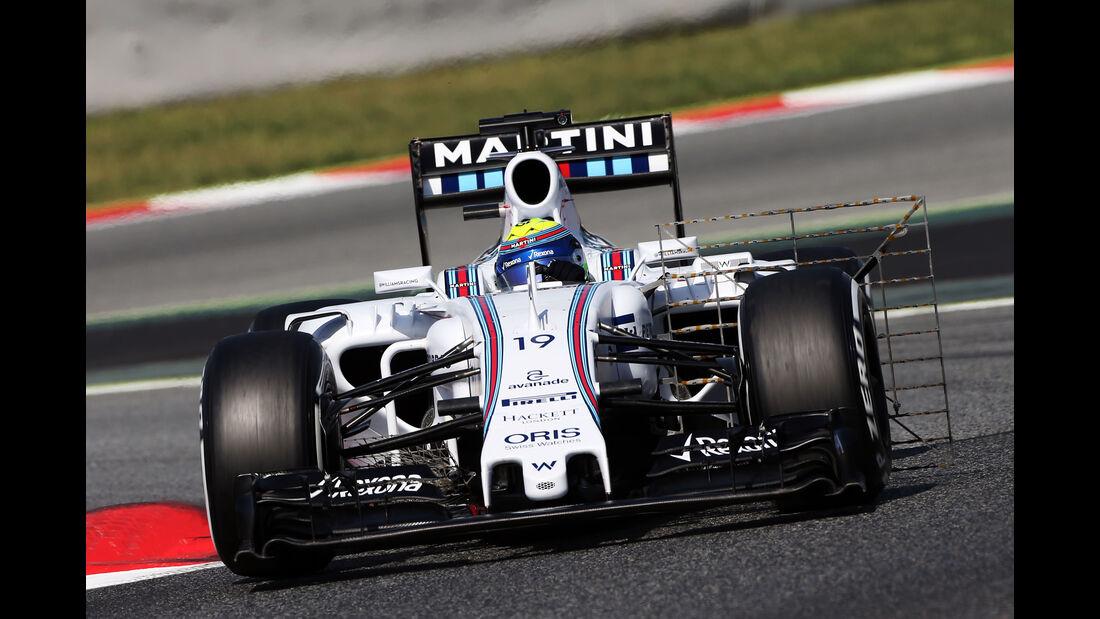 Felipe Massa - Williams - Barcelona-Test - 12. Mai 2015