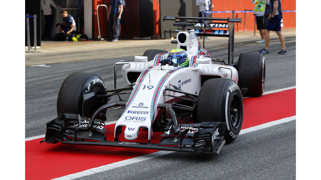 Felipe Massa - Williams - Barcelona Test 2 - 18. Mai 2016