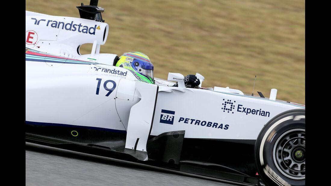 Felipe Massa - Williams - F1 Test Barcelona (1) - 13. Mai 2014