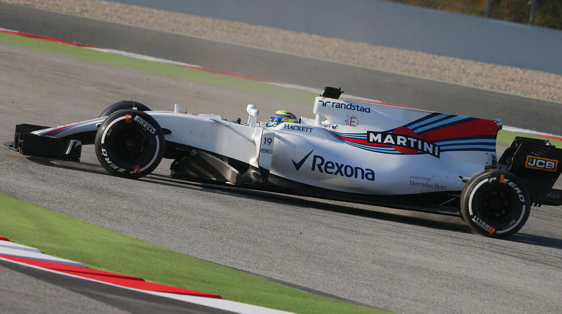 Felipe Massa - Williams - F1-Test - Barcelona - 27. Februar 2017
