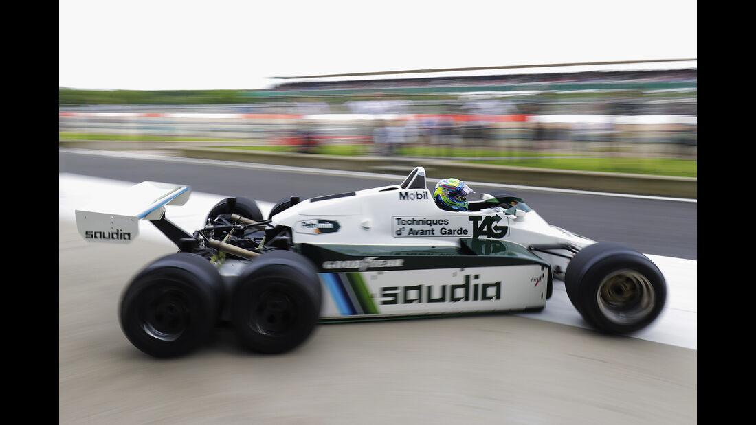 Felipe Massa - Williams FW08B - Williams-Jubiläum - Silverstone - 2017