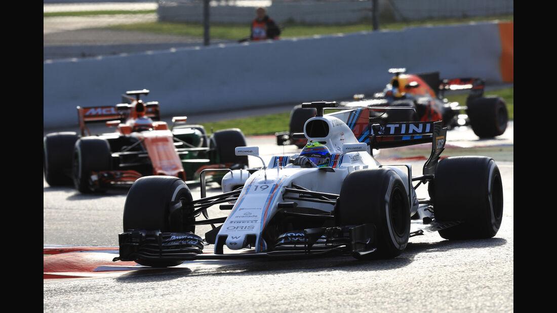 Felipe Massa - Williams FW40 - Testfahrten - Barcelona