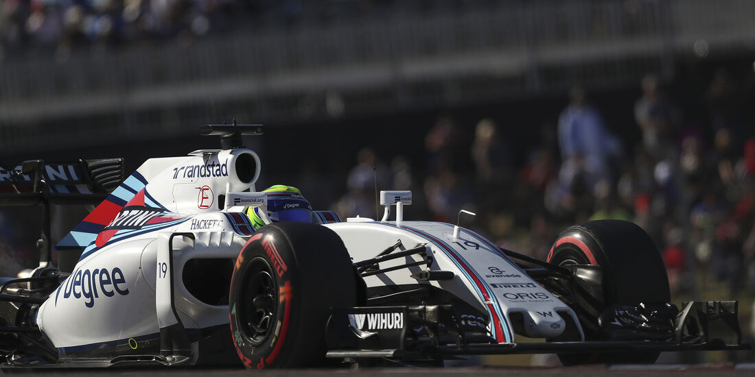 Felipe Massa - Williams - Formel 1 - Austin - GP USA - 22. Oktober 2016