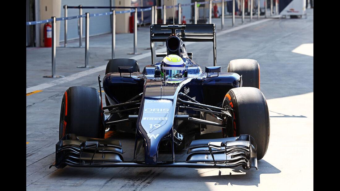 Felipe Massa - Williams - Formel 1 - Bahrain - Test - 19. Februar 2014