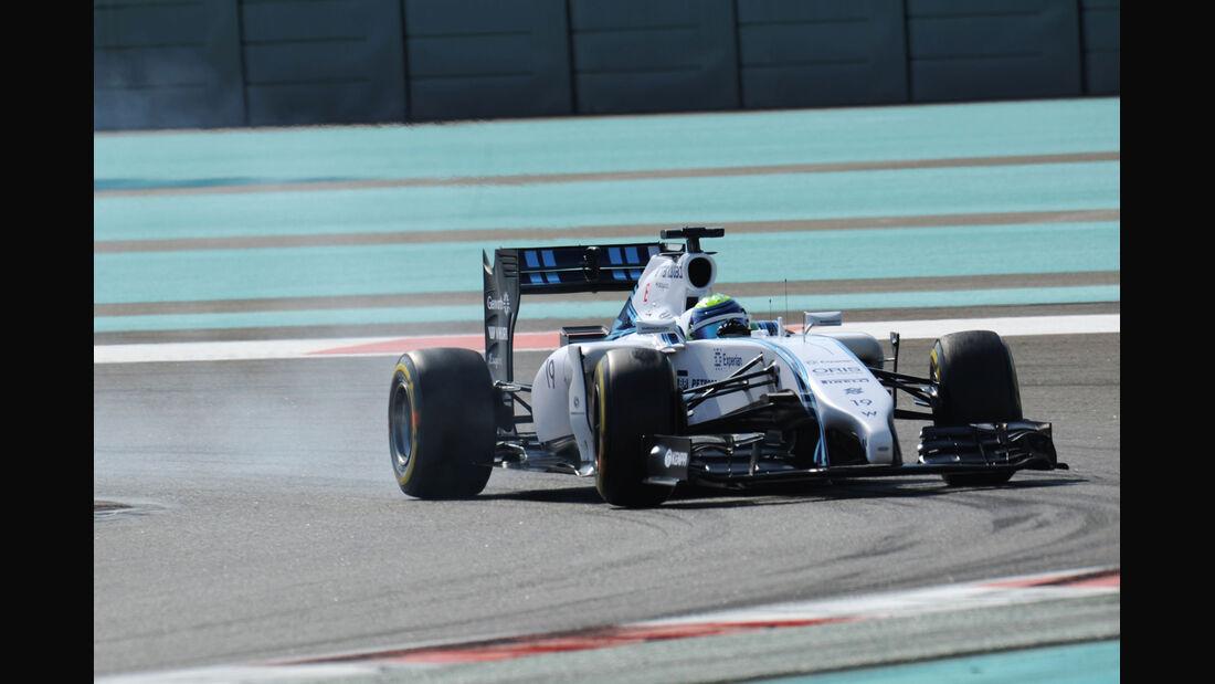 Felipe Massa - Williams - Formel 1 - GP Abu Dhabi - 21. November 2014