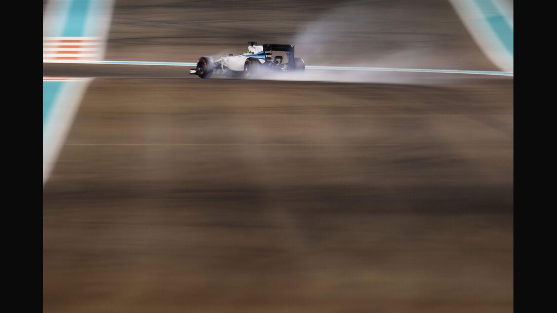 Felipe Massa - Williams - Formel 1 - GP Abu Dhabi - 22. November 2014
