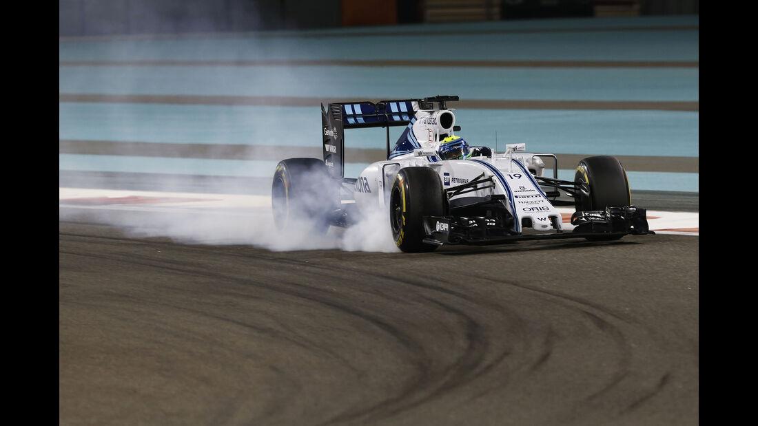 Felipe Massa - Williams - Formel 1 - GP Abu Dhabi - 27. November 2015