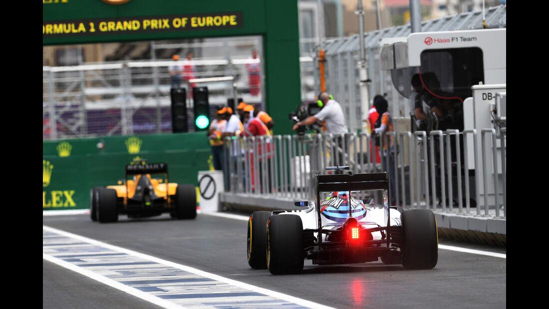 Felipe Massa - Williams - Formel 1 - GP Aserbaidschan - Baku - 17. Juni 2016